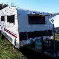 26ft Spaceland Caravan