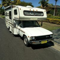 CLASSIC MINT TOYOTA ODYSSEY WINNEBAGO  self contained motor home