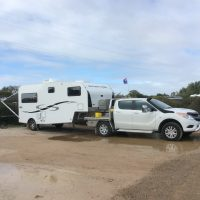 Southern Cross 5th wheeler & Mazda BT 50 4 x 4 dual cab ute