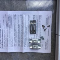 Aussie Traveller anti flap kit to suit medium awnings 2.2m to 2.3m