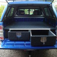 4WD Custom Built Drawer Storage System for Ford Ranger