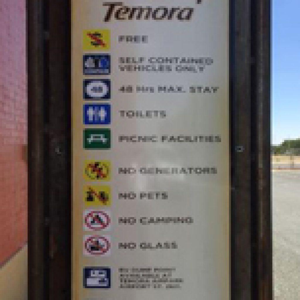 Temora Railway Station Free Camp (FC) - Free Range Camping Directory